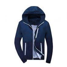 Men's Hooded Windbreaker Jackets