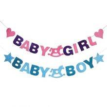 Baby Shower Felt Banner For Party Decor