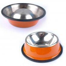 Modern Steel Dog's Bowl