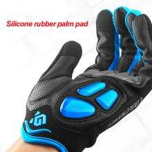 Winter Shockproof Touch Screen Unisex Cotton Cycling Gloves