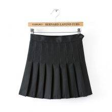 Women's Mini Pleated Skirt