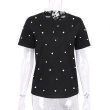 Women's Polka Dot Patterned T-Shirt