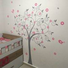 Tree Style Wall Sticker for Children Room