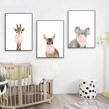 Chewing Gum Animals Posters