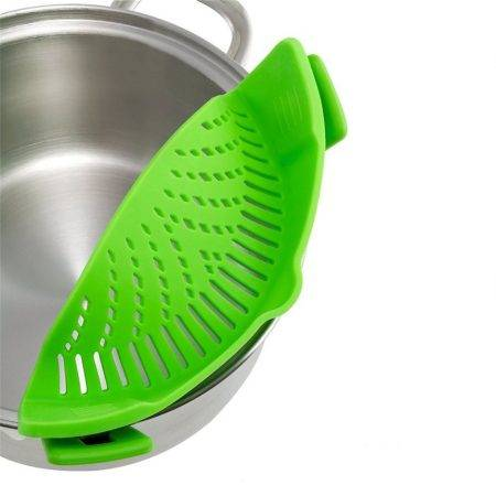 Kitchen Clip-On Silicone Colanders Home & Garden Kitchen Supplies
