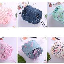 Travel Lace-Up Cosmetic Bag