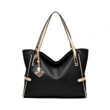 Casual Elegant Large Capacity PU Leather Women's Handbag