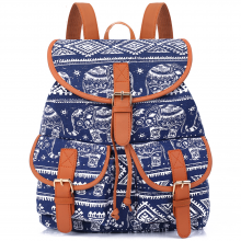 Women's Vintage Canvas Backpack