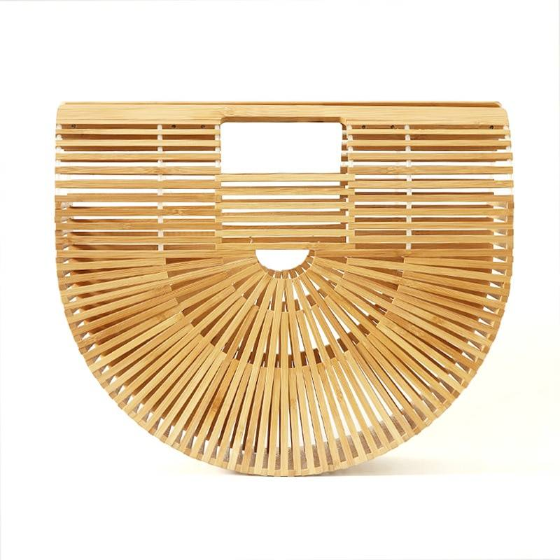 Women's Boho Style Straw Handbag Bags Women's Accessories Color : Black|Green|Pink|White|Nature