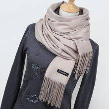 Women's Cashmere Scarves with Tassel