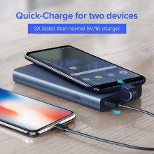 10000 mAh 18 W Quick Charge Power Bank