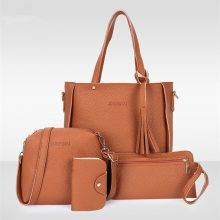 Women's Leather Bags Set