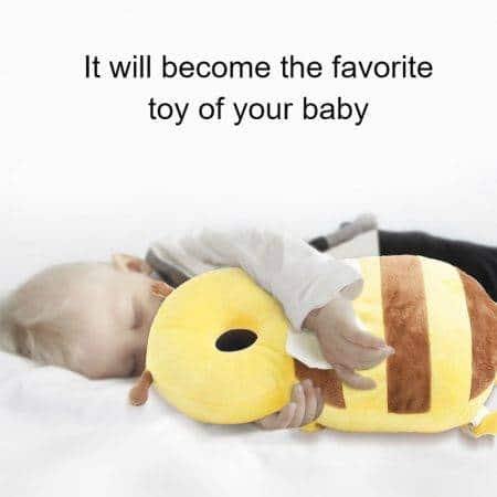 Baby Head Protection Pillow Baby Clothes Kids & Babies Color : Yellow|Brown