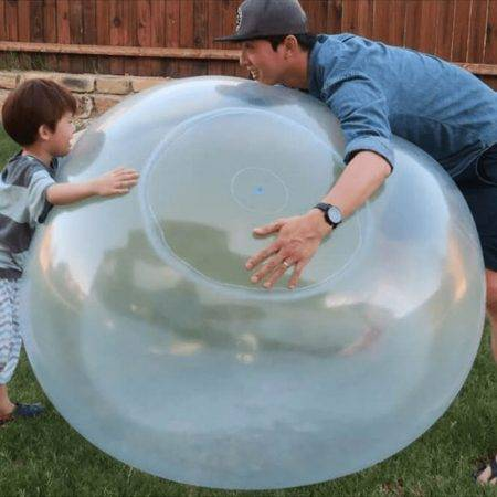 Indestructible Bubble Ball Sports & Outdoor Color : Green|Pink|Blue|Yellow