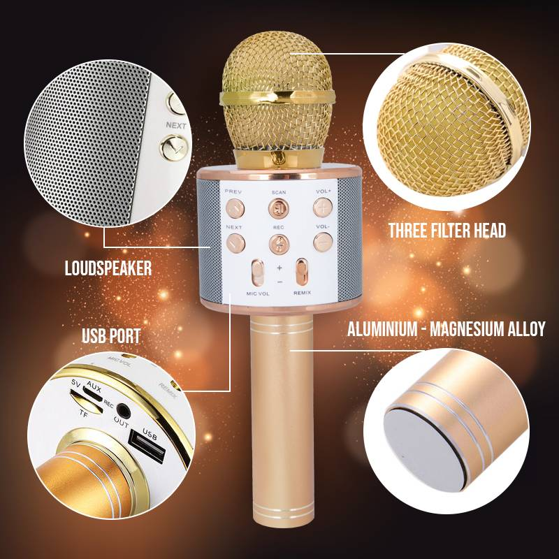 Wireless Karaoke Microphone Party Decorations Party Decorations