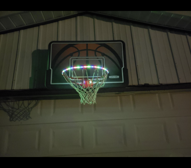 Basketball Hoop LED Strip Light Fitness Sports & Outdoor